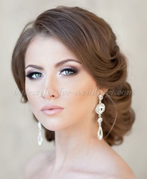chignon wedding hairstyles, low bun wedding hairstyles - low bun hairstyle for weddings