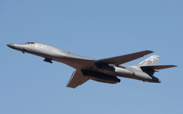 "B-1 Bomber Buzzes Sturgis Bike Rally, Redefines The Term ""Loud Exhaust"""