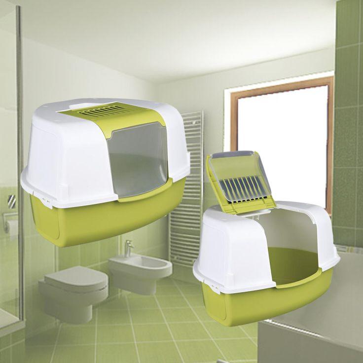 Tadeo Open Top Угловой туалет (58 х 38 х 50 см) зеленый/белый - купить в интернет магазине в Москве.