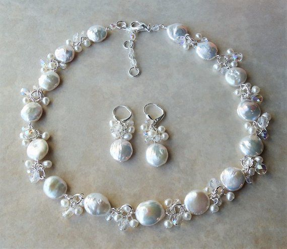 White Mother of Pearl Bracelet.Beach Wedding.Metal Plated in Sterling Silver.Beadwork.Bridal.Formal.Bridesmaid.Mother/'s.Birthday Handmade.