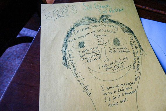 Get ready for back to school with a simple self-esteem self portrait activity that will boost your child's self-esteem before a new school year.
