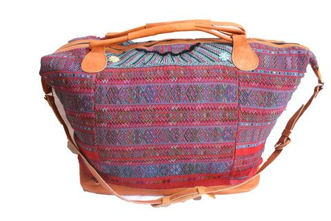 Extra Large Huipil Bag-Chisec