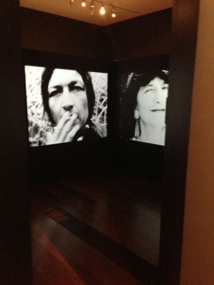 Sue Ford exhibition - 2014 with assistance of Ben Ford Faces 1976-96 black and white 16mm film transferred to DVD, silent, 13 mins National Gallery of Victoria, Australia (NGVA)