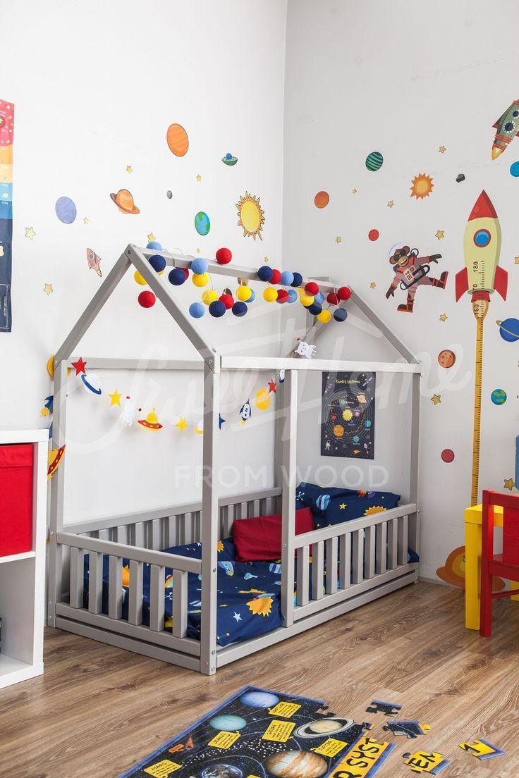 Skandinavisches Design Babyzimmer Innenbett Oder Kinderbett Skandinavisches Design Babyzimmer Innenbett Oder Kinder Kinderzimmer Kinderbett Kinderzimmer Ideen
