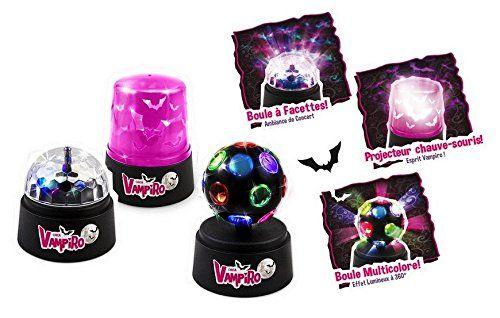 1 Mini boule à facette  rotative; 1 Mini gyrophare violet à LED; 1 Mini boule rotative multicolore Aucun Contient : 1 mini boule à facette rotative, 1 mini gyrophare violet à LED, 1 mini boule rotative multicolore