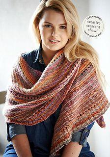 Cleckheaton Knitting Pattern Corrections : 17 Best ideas about Crescent Shawl on Pinterest Shawl, Knit shawl patterns ...