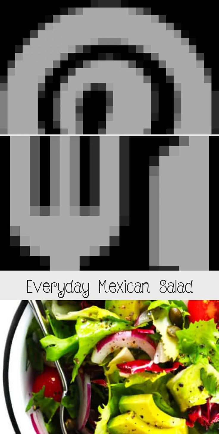EVERYDAY MEXICAN SALAD  Feel free to add extra protein  (tofu, beans, cheese, etc.) or veggies if you would like! | gimmesomeoven.com #saladrecipesBroccoli #Summersaladrecipes #Greensaladrecipes #Panerasaladrecipes #Greeksaladrecipes