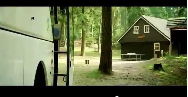 """Het schoolkamp van de mooie film """"achste groepers huilen niet' is bij ons in De Blokhut!"""