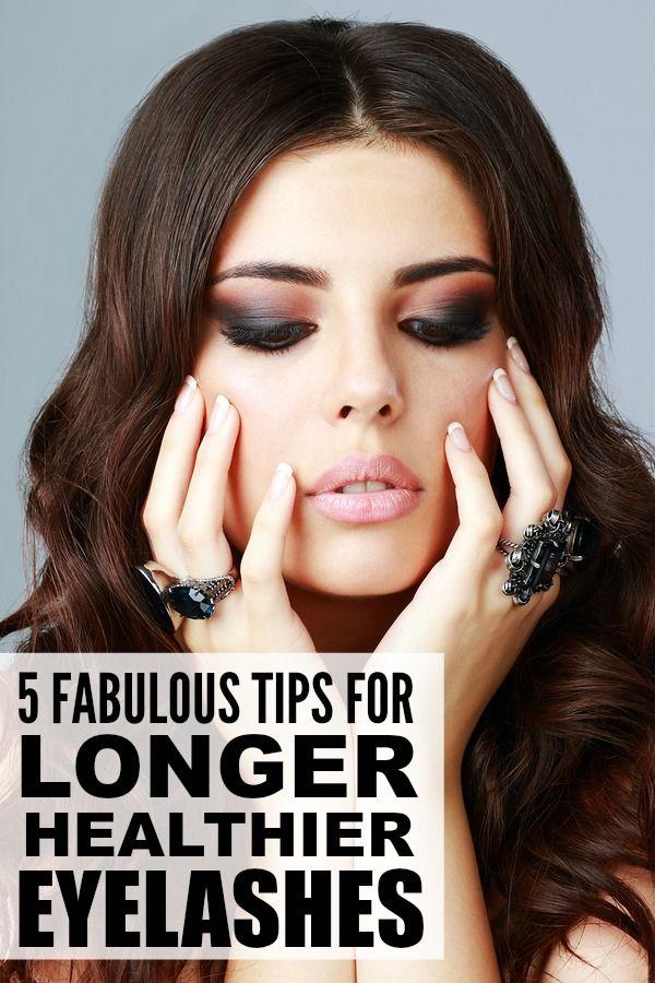 5 tips for longer, healthier eyelashes