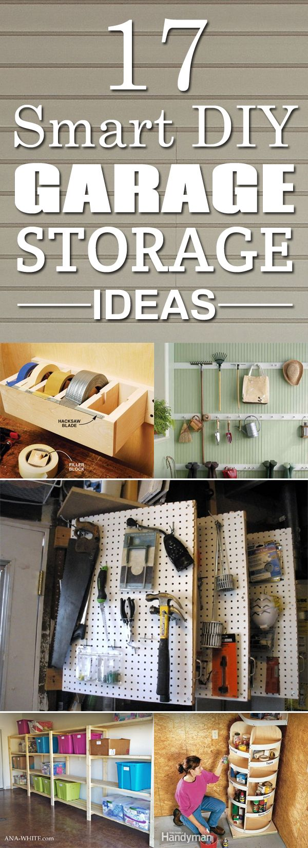 17 Smart DIY Garage Storage Ideas →                                                                                                                                                                                 More