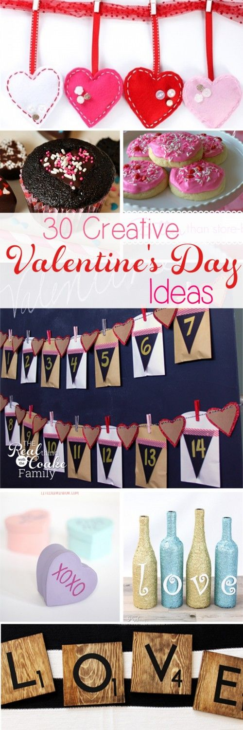 30 Creative Valentineu0027s Day Ideas for the