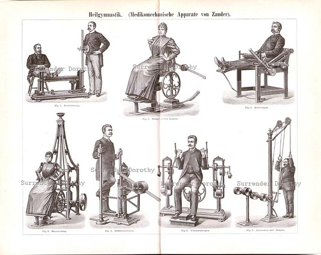 1887 Modern Fitness And Gym Equipment by SurrendrDorothy, via Flickr