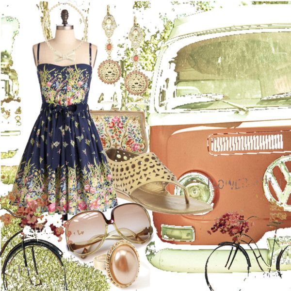 """Bicycles & Wagons"" by alisinwonderland on Polyvore"