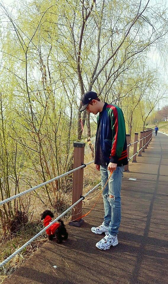 Chanyeol and Toben ❤