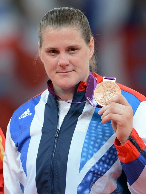 BRONZE: Karina Bryant, +78kg Judo