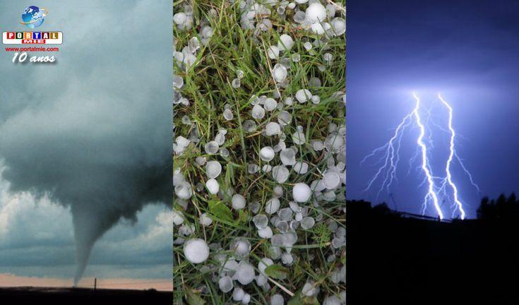 A agência de meteorologia informou que poderá haver uma mudança brusca nas condições do tempo, no final da tarde desta sexta-feira. Confira.