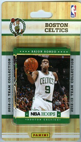2012/2013 Panini Hoops NBA Basketball Boston Celtics Brand New Factory Sealed Complete TEAM Set!! Includes 10 Cards with Avery Bradley, Kevin Garnett, Paul Pierce, Rajon Rondo, Ray Allen, Doc Rivers, Jajuan Johnson, Greg Stiemsma, Rajon Rondo and Brandon Bass. . $9.99. Wowzzer!! We are Proud to offer this Brand New Original Factory Sealed 2012/2013 Panini Hoops NBA Basketball Boston Celtics Brand New Factory Sealed Complete TEAM Set!! Includes 10 Cards with Avery Bradley, Kev...