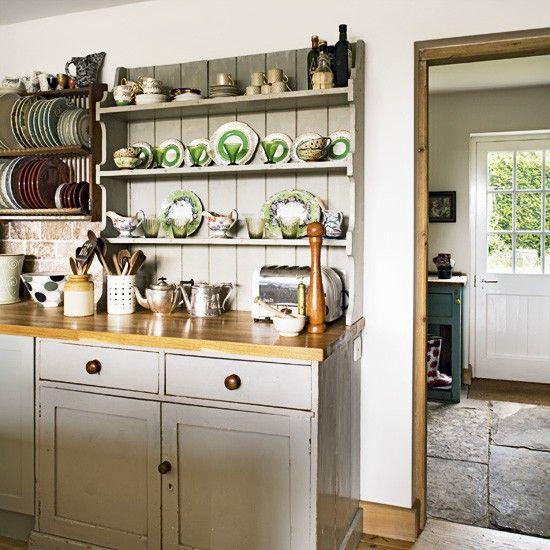 Built In Kitchen Dresser A Gorgeous Colour