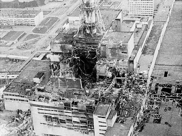 The catastrophic nuclear meltdown at Chernobyl happened on April 26, 1986.