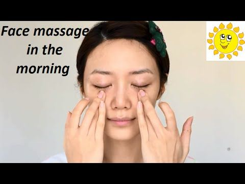 Face massage in the morning with Chinese therapy - YouTube