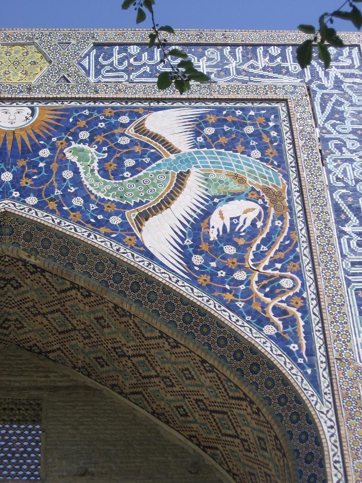 blue muzaic