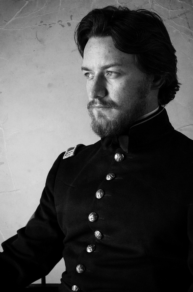 James Mcavoy with a beard!