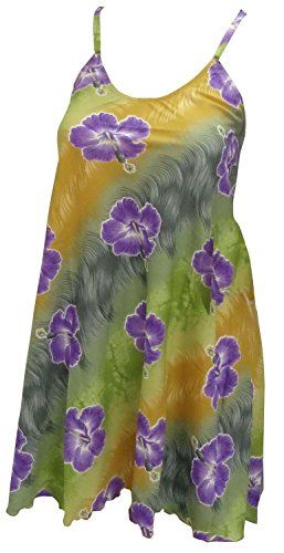 La Leela Purple Hibiscus Floral Printed Likre Beach Hawaiian Swim Cover up L. Do YOU want COVER UPS in other colors Like Red ; Pink ; Orange ; Violet ; Purple ; Yellow ; Green ; Turquoise ; Blue ; Teal ; Black ; Grey ; White ; Maroon ; Brown ; Mustard ; Navy ,Please click on BRAND NAME LA LEELA above TITLE OR Search for �LA LEELA� in Search Bar of Amazon. 100% Likre Material. This Special Fabric Does Not Run, Shrink Or Fade In The Sun. | No Special Wash Care Needed. | Easy To Dry. Cool Iron…