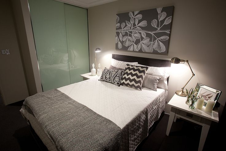 This beautiful bedroom is part of the #SouthportPlatinum display home, designed and built by #HomeGroupWA.