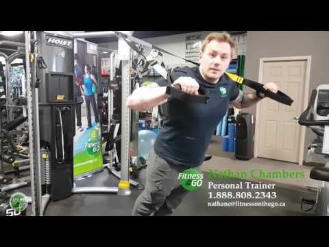 TRX Suspension trainer With Nathan from Fitness on the Go One of the most simple and effective tools is the TRX suspension trainer, continuing this week in our trainer series Nathan from Fitness on the Go demonstrates ...
