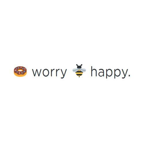 Doughnut worry bee happy ❤️