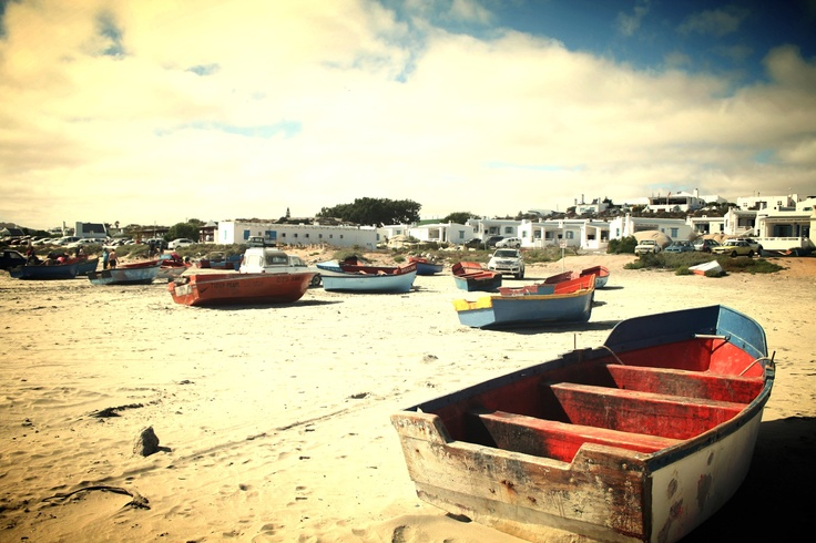 Saldanha bay-Little Fish Village in the Western Cape