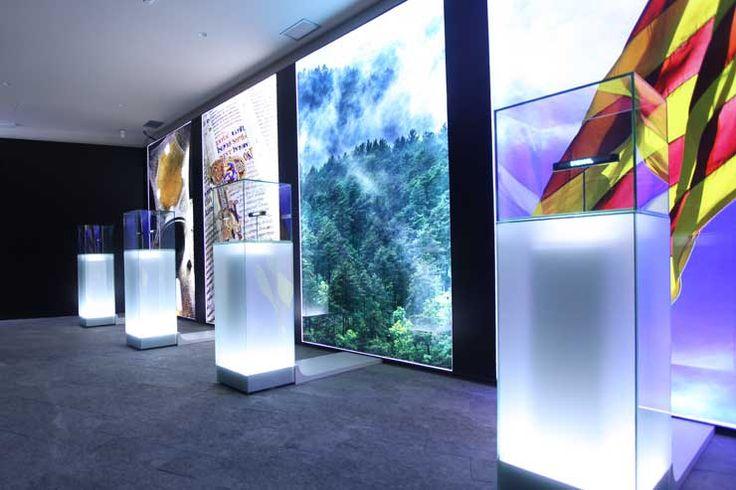 EXHIBITION   Centro de Interpretación Monestir de Santa Maria de Ripoll by Exit Design.