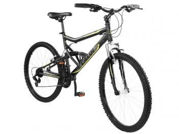 Bicicleta Caloi Mountain Bike SK Sport Aro 26 - 21 Marchas Full Suspension Câmbio Shimano