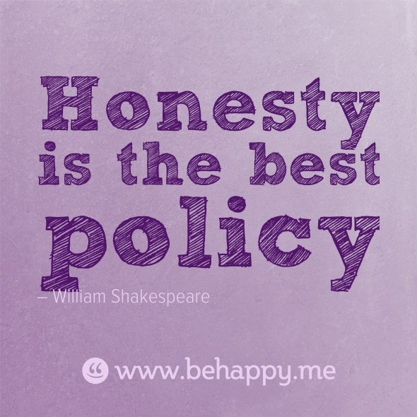 "... honesty is the best policy... Essays on ""Honesty Is the Best Policy"