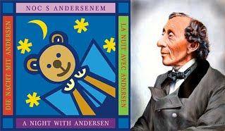 Noc s Andersenem a s malými čtenáři  Jednou za rok je kouzelná noc, kdy pohádky ožívají. Průvodci letošním večerem s Andersenem jsou MYŠPULÍN, FIFINKA, BOBÍK, a PINĎA.  Kamarádi ze Čtyřlístku  nachystali zejména pro dětské čtenáře nejedno překvapení.  Co se bude dít v Bobíkově kuchyni, Fifinčině dílně, Pinďově tělocvičně či Myšpulínově laboratoři?