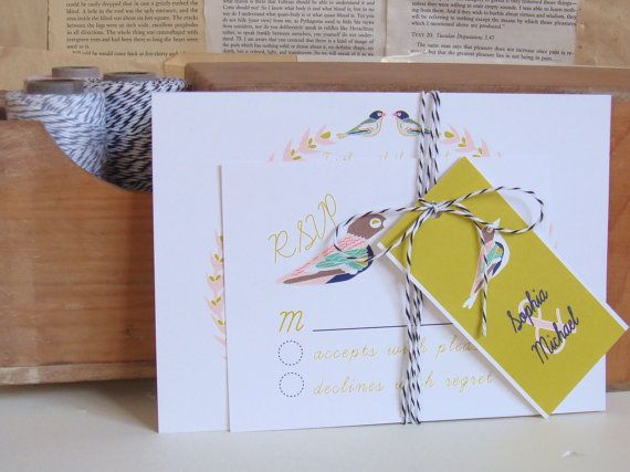 Bird Wedding Invitation: 34 Best Celebrate With Birds Images On Pinterest