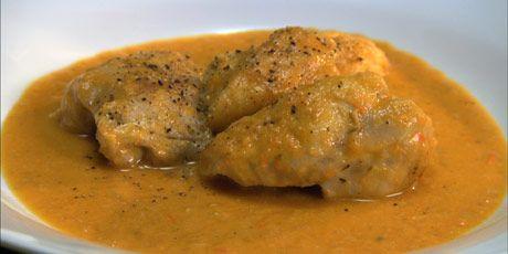 Anna's Braised Chicken in Bell Pepper Sauce