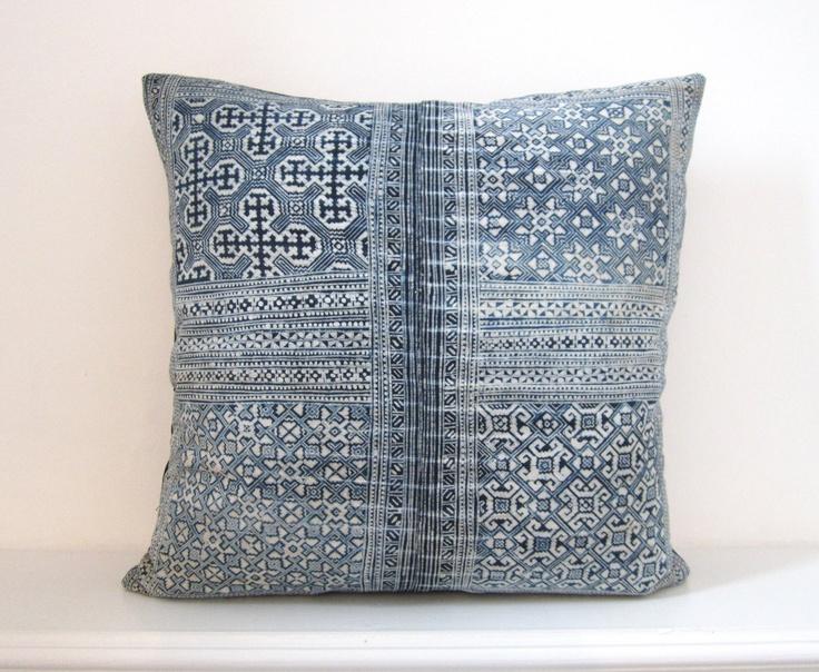 Hmong textile cushion