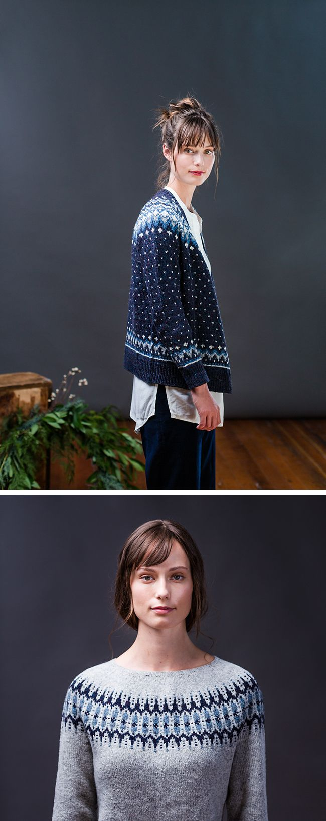 When the Brooklyn Tweed Fall '17 collection came out, I mentioned there were some sweaters that would come up here sooner or later. I was referring to Galloway by Jared Flood and Voe by Gudrun John…