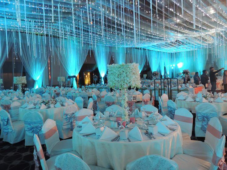 #white #Rain #Peacock #theme #bangladeshi #wedding #decor #ceiling #southeastasian #floral #nighttime #gardenwedding #ikebanabd #ikebana #ikebanaBangladesh #ikebanaltd #Bangladesh