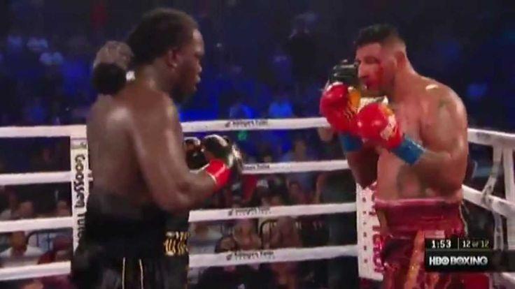 Bermane Stiverne vs Chris Arreola Full Fight | TapTap Sports HQ (Boxing). Le boxeur Stiverne devient le champion du monde en poids lourd