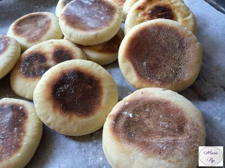 Petits pains anglais - English Muffins
