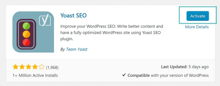 Yoast SEO is in the top 20 active plugins on WordPress.org and is the most popular SEO plugin in the WordPress space. https://droidwebdesign.com/how-to-install-and-activate-yoast-seo-plugin-for-wordpress/