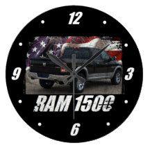 2014 Ram 1500 Quad Cab Laramie Large Clock