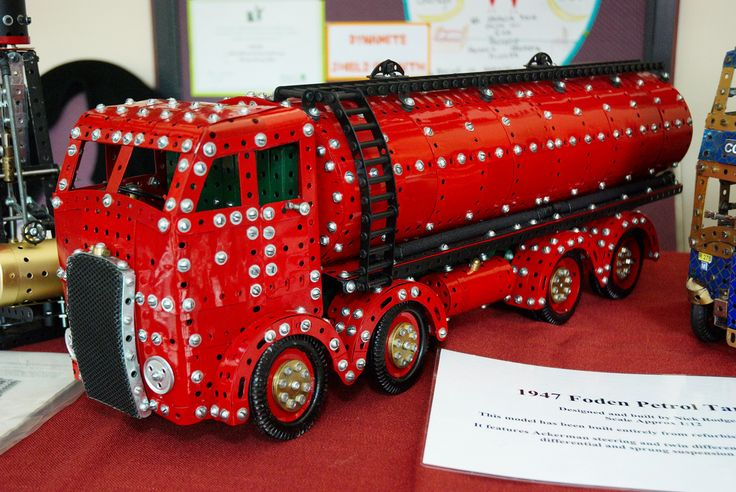 Meccano 1947 Foden Petrol Tanker by Nick Rodgers