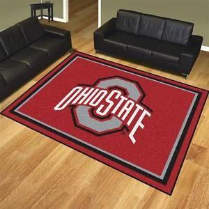 Nylon-Ohio-State-University-Buckeyes-8-x-10-Area-Rug-Carpet