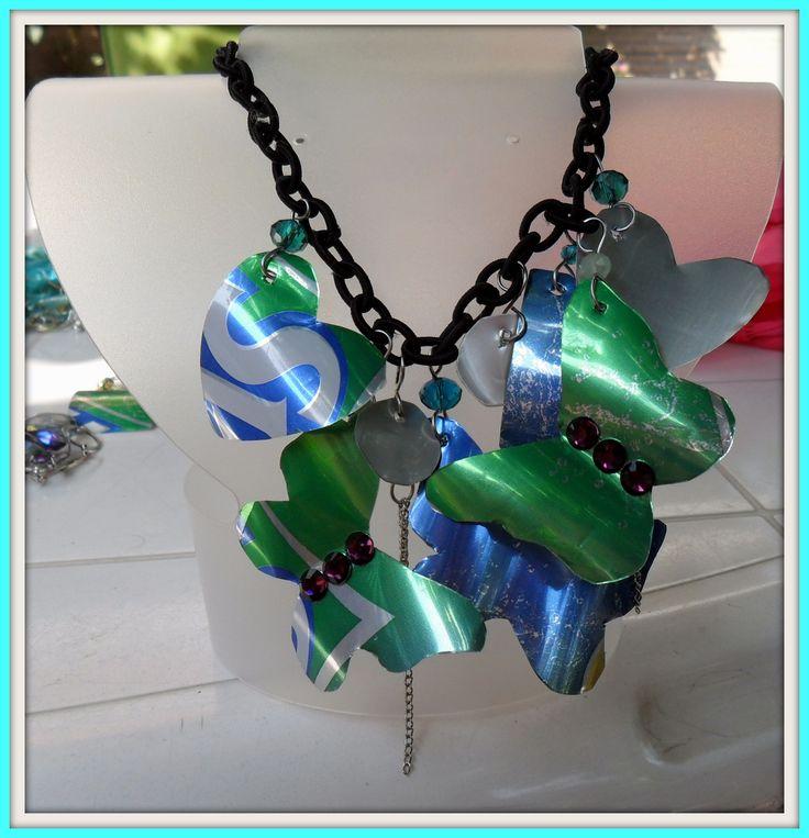necklace - sprite - diy