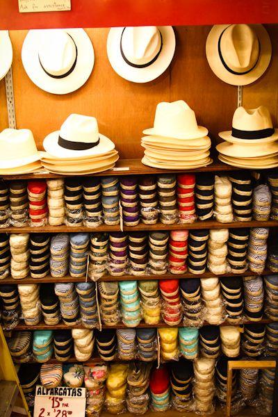 Old San Juan hat shop.