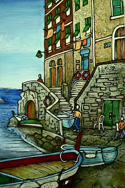 Chrissandra's Art: Painting Two Loves