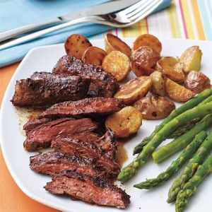 0814 Coffee-Rubbed Skirt Steak | 15-Minute Meals Everyone Will Love | AllYou.com Mobile